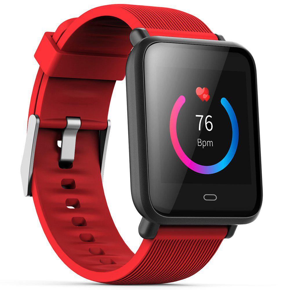 Cheap Q9 Colorful Screen Waterproof Sports Smart Watch for Android / iOS with Heart Rate Monitor Blood Pressure Functions