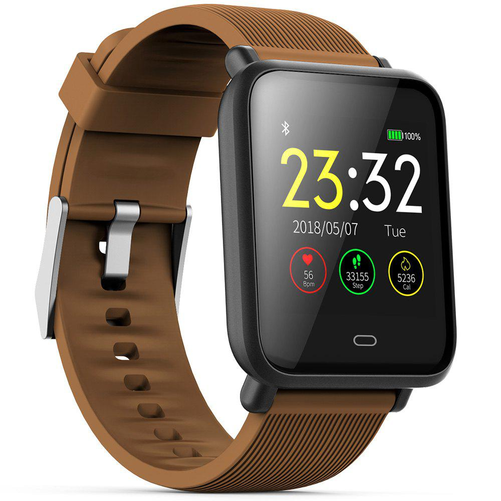 Fashion Q9 Colorful Screen Waterproof Sports Smart Watch for Android / iOS with Heart Rate Monitor Blood Pressure Functions