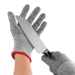 Washable HPPE Cut Resistant Gloves -