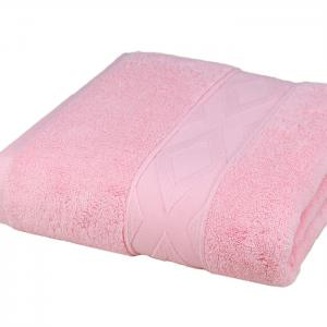 Non-toxic Pure Cotton Diamond-shaped Satin Bath Towel -