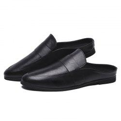 Men Stylish Casual Microfiber Leather Shoes -