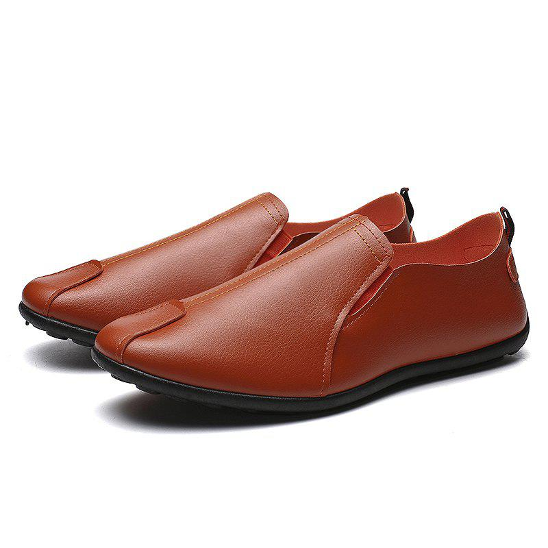 Shop Casual Microfiber Leather Shoes for Men