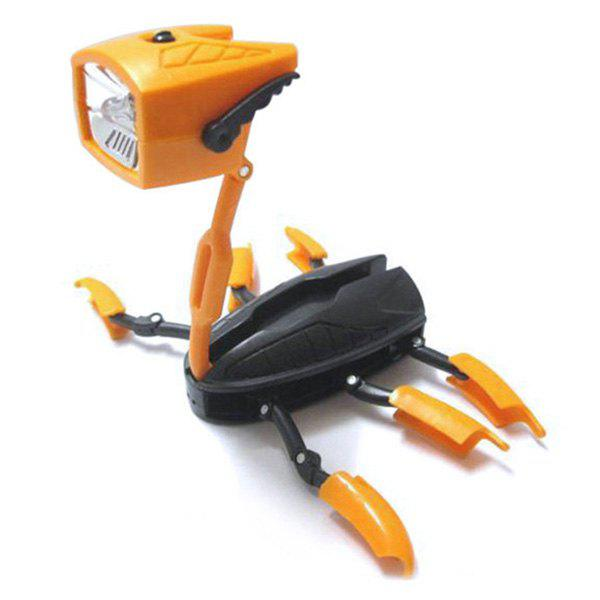 Outfits Multifunctional Deformation Robot Toy LED Torch Flashlight Lamp for Kids