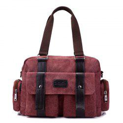 Jinqiaoer Women Contracted Multifunctional Canvas Handbag -