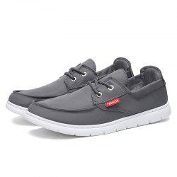Round Toe Breathable Mesh Cloth Casual Shoes for Men -