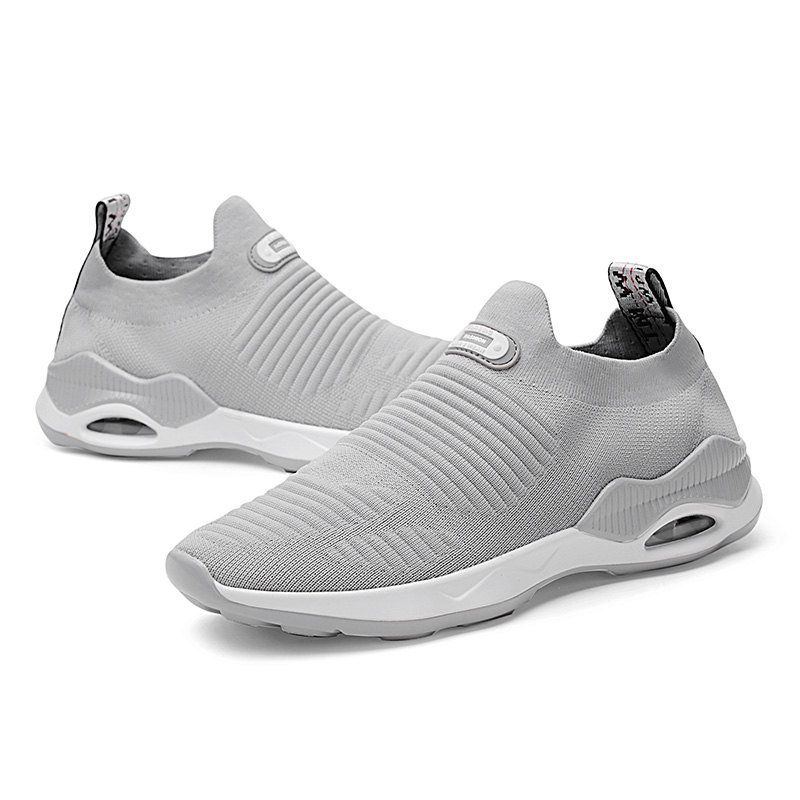 Outfits Round Toe Breathable Pure Color Casual Sports Shoes for Men