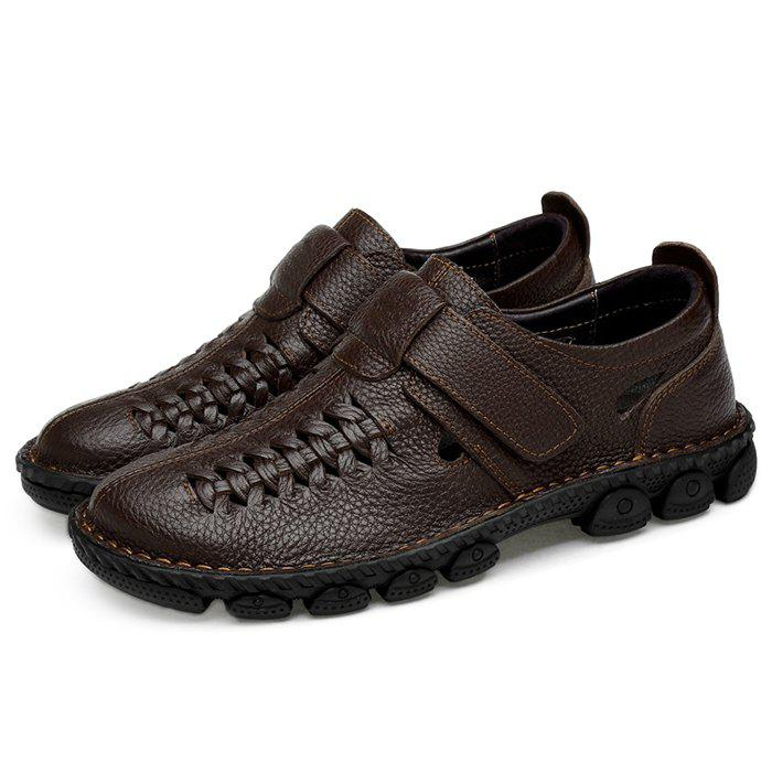 Latest Anti-slip Breathable Office Leather Casual Shoes for Men