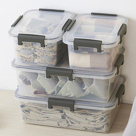 Discount Transparent PP Storage Box