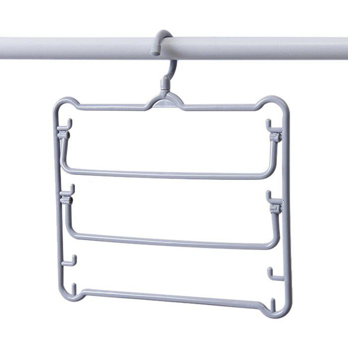 Best Multi-layer Rotating Non-slip Storage Rack for Clothes Pants Scarves