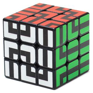 ZCUBE 3 x 3 x 3 Smooth Puzzle Maze Magic Cube -