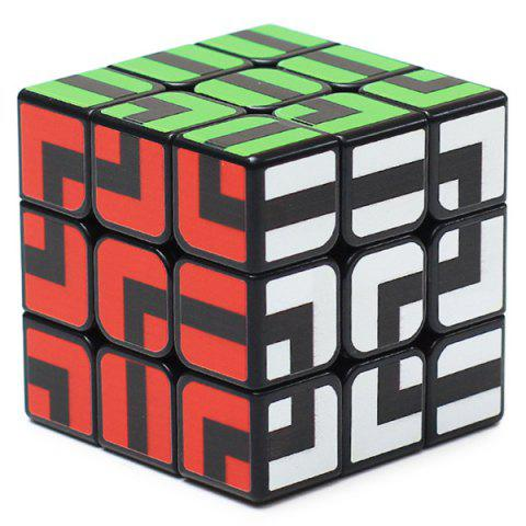 Shops ZCUBE 3 x 3 x 3 Smooth Puzzle Maze Magic Cube