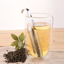 Stainless Steel Tea Tube Infuser Filter Gadget for Drinking -