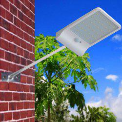 Solar Power Panel Lamp Inducted 36-LED Light for Outdoor Street Wall -