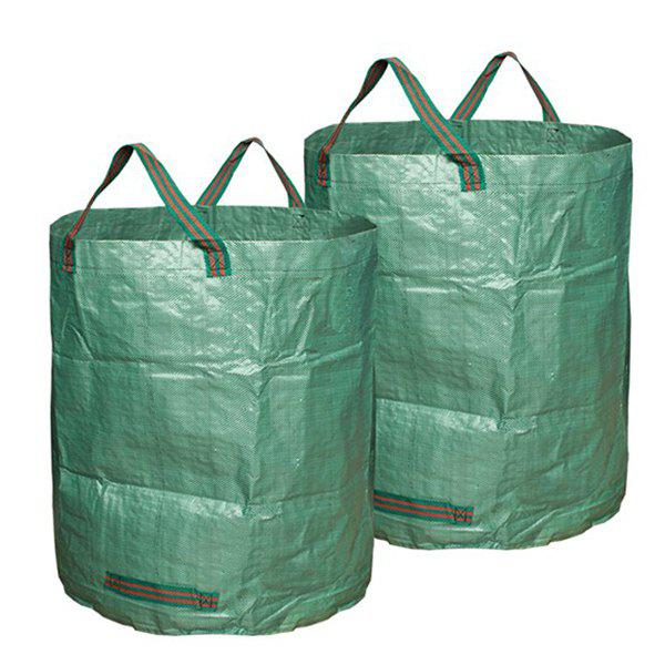Unique 272L Durable Leaf Garbage Bag for Cleaning 2PCS