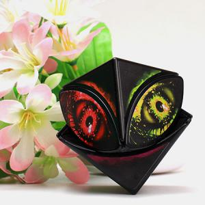 ZCUBE Creative Maple Leaf Eye Magic Cube Educational Toys -