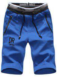 Trendy Breathable Sports Beach Drawstring Shorts for Men -