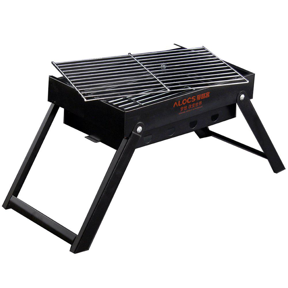Cheap Alocs Mini Portable Folding Carbon Oven Outdoor Charcoal Household Barbecue Tool