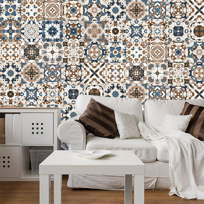 Creative Moroccan Style Wall Sticker For Kitchen Bedroom Living Room 5pcs