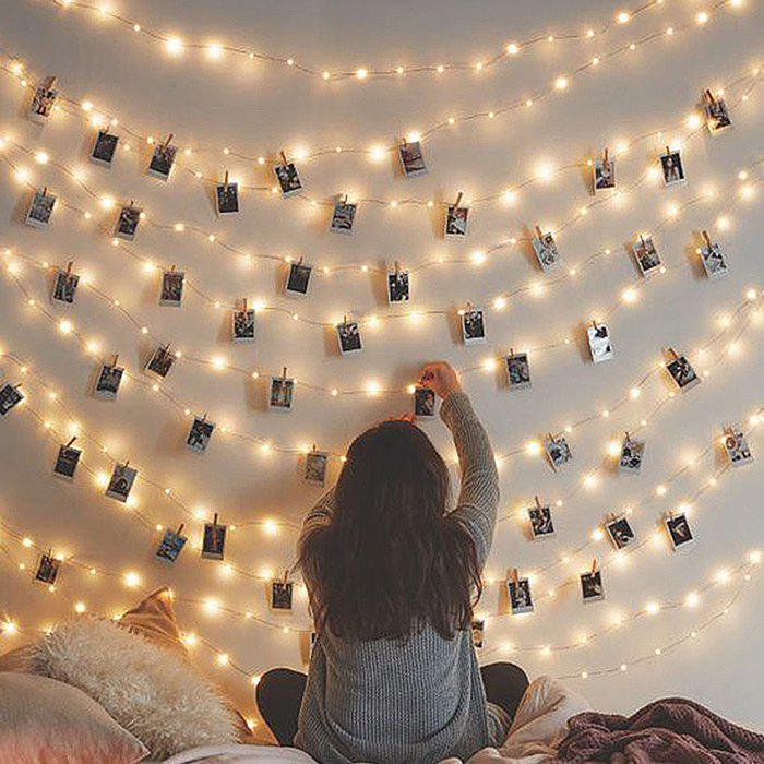 Unique Creative Clip LED Lamp Photo Wall Decoration Lights