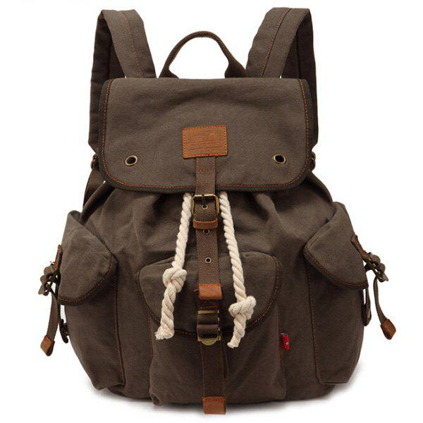 Best Stylish Outdoor Large Capacity Durable Canvas Backpack