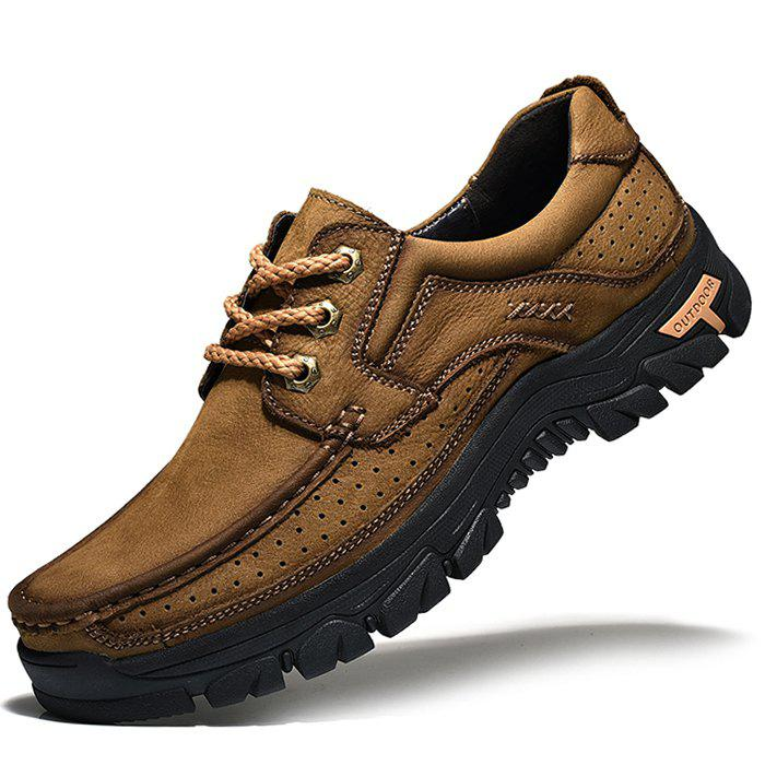 Shops Anti-slip Breathable Outdoor Casual Leather Shoes for Men