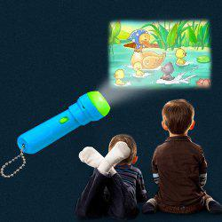 Kids Projector Toy Educational Story Flashlight -