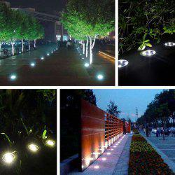 8 LED Solar Power Ground Light Outdoor Garden Lawn Lamp -