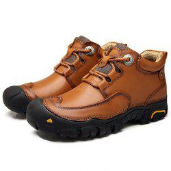 Outdoor Breathable Anti-slip Casual Leather Shoes for Men -