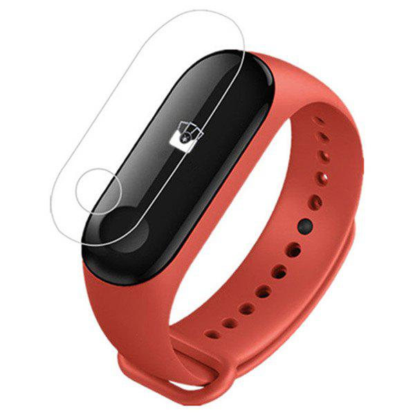 Shop Clear Screen Protector Protective Film Guard for Xiaomi Mi Band 3 Watch 2pcs