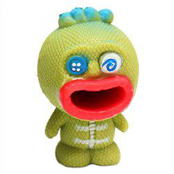 Pop Out Big Mouth Alien Stress Reliever Squishy Toy Gift -