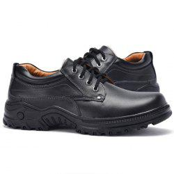 Breathable Winter Anti-slip Outdoor Casual Leather Shoes for Men -