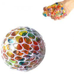 Squishy Mesh Stress Reliever Ball Squeeze Toy Party Bag Funny Gift -