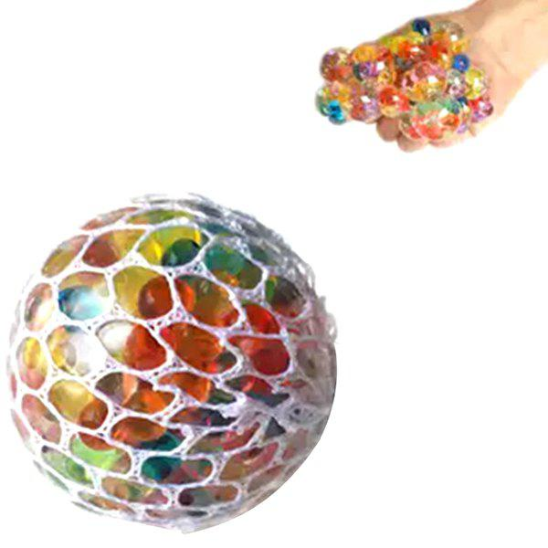 Discount Squishy Mesh Stress Reliever Ball Squeeze Toy Party Bag Funny Gift
