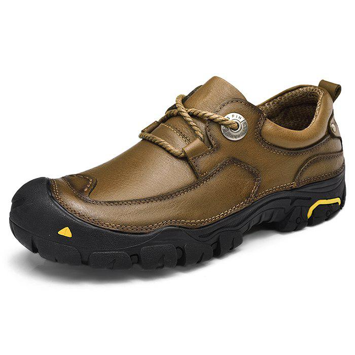 Outfit Outdoor Anti-slip Handcrafted Leather Casual Shoes for Men