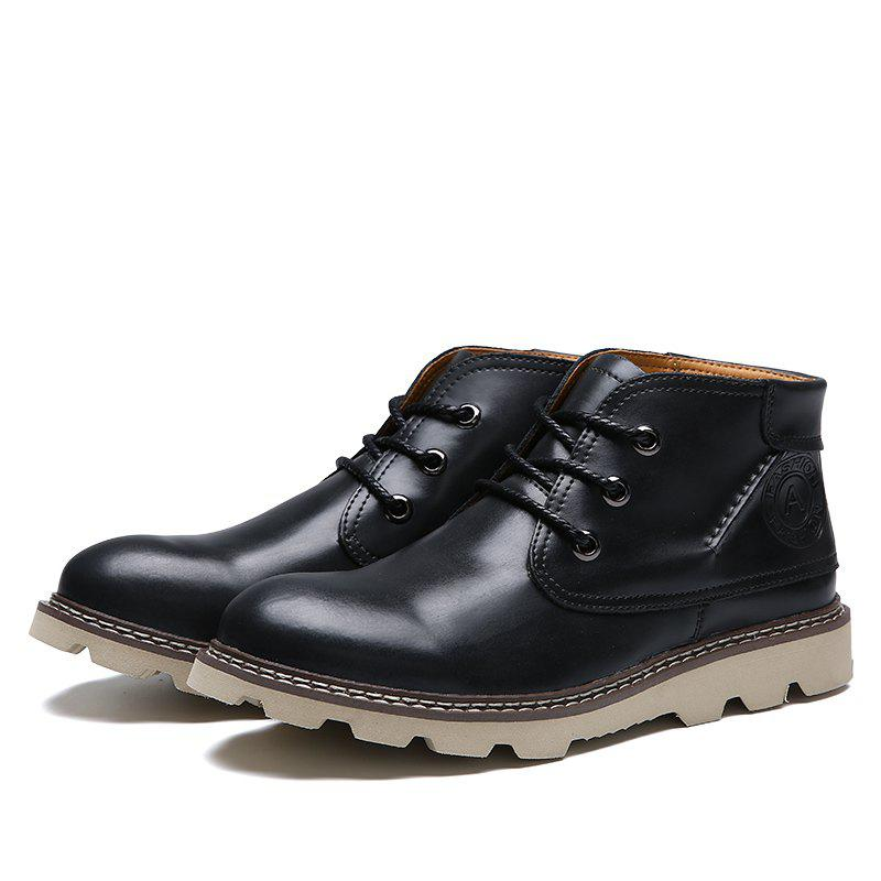 Online Leather Fashion Comfortable Casual Shoes for Men