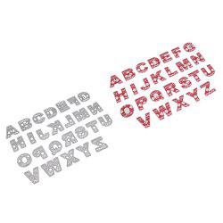 English Capital Letters DIY Embossed Cutting Die -