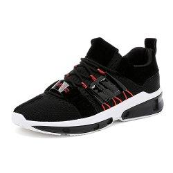 Men Breathable Fashion Round Toe Sneakers -