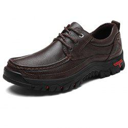 Fashion Outdoor Soft Anti-slip Leather Casual Shoes for Men -