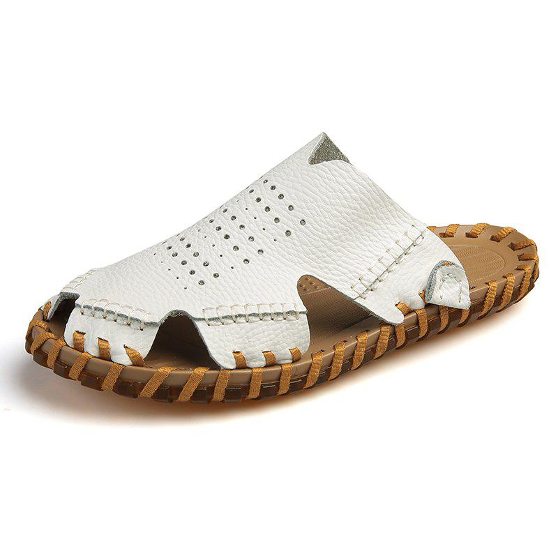 Hot Men Fashion Round Toe Breathable Casual Slippers