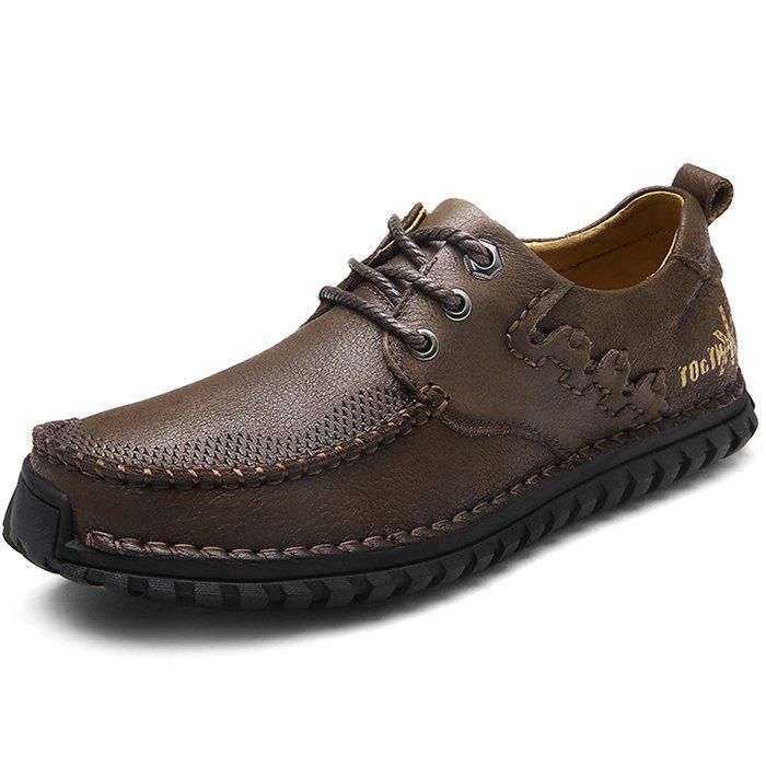 Cheap Fashion Anti-slip Soft Leather Casual Shoes for Men