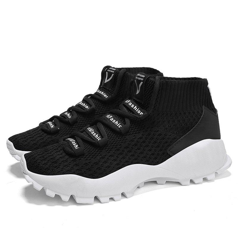 Shop Male Breathable Woven Fabric Leisure Sports Shoes
