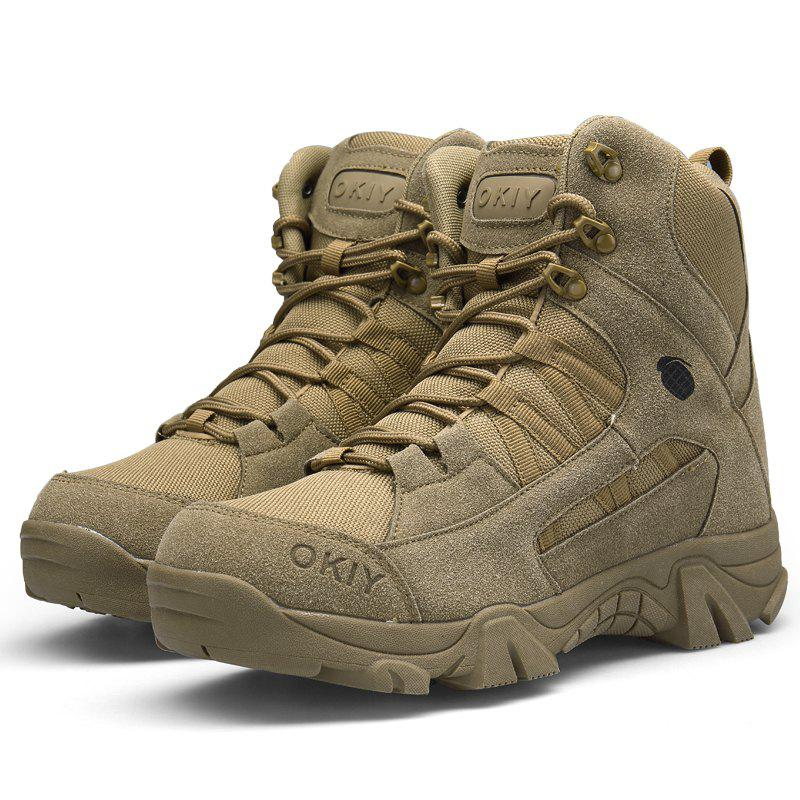 Latest High-top Men Fashion Wear-resistant Antiskid Sports Boots