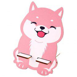 Creative Cartoon Style Wooden Phone Holder -