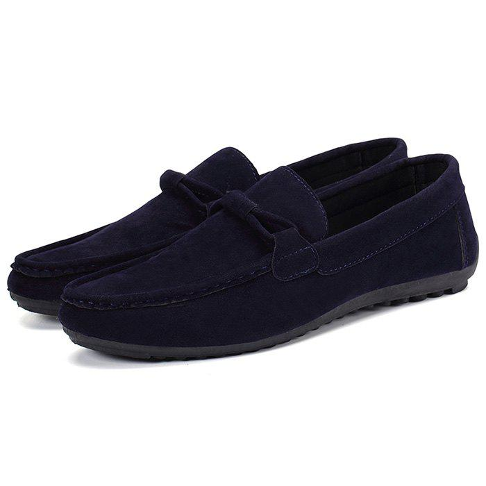 Discount Fashion Casual Suede Comfortable Flat Shoes for Men