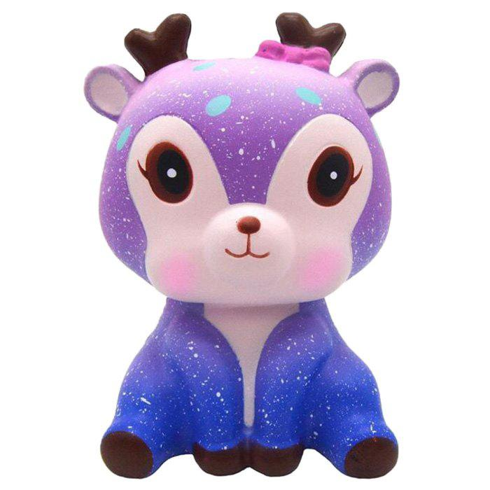 Shop Jumbo Squishy Galaxy Deer PU Slow Rising Toy Relief Pressure Gift