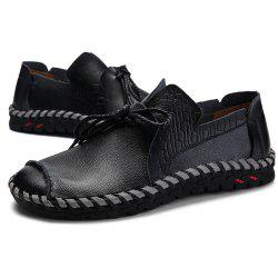 Anti-slip Breathable Outdoor Slip-on Casual Leather Shoes for Men -