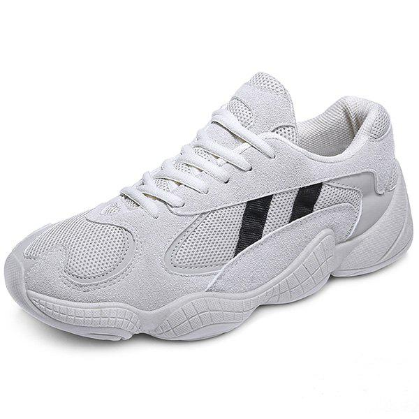 Fancy Trendy Splicing Breathable Anti-slip Leisure Sports Shoes for Men