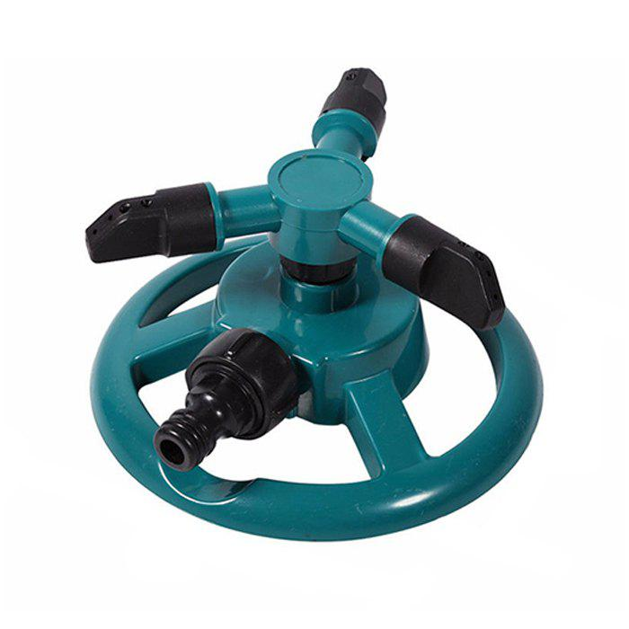 New Automatic Garden House Water Sprinkler with 360 Degree Rotating Spray Head