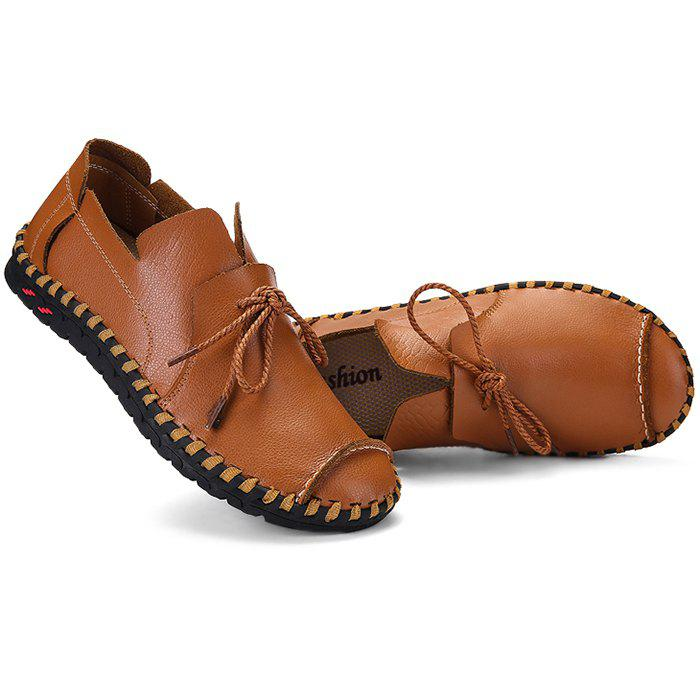 Anti-slip Breathable Outdoor Slip-on Casual Leather Shoes для мужчин