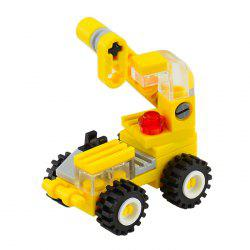 34 PCS DIY Crane Building Blocks for Kids -